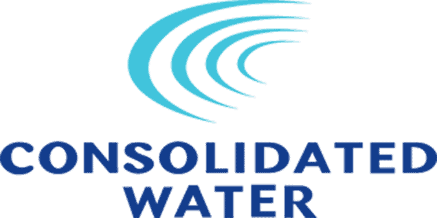 Consolidated Water  - building, maintaining and operating water desalination plants